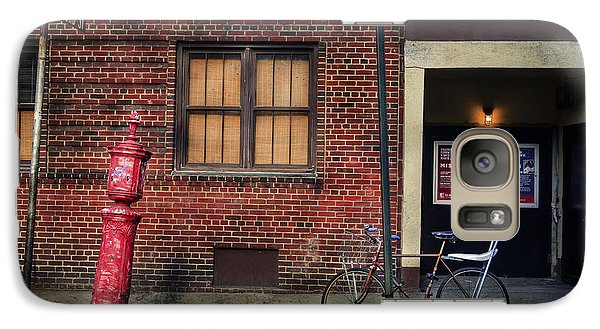 Galaxy Case featuring the photograph Christopher St. Bicycle by Craig J Satterlee