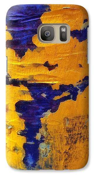 Galaxy Case featuring the photograph Chromatic Peels by Olivier Calas