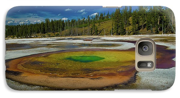 Galaxy Case featuring the photograph Chromatic Pool by Roger Mullenhour