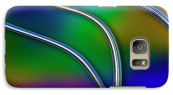 Galaxy Case featuring the photograph Chrome by Paul Wear