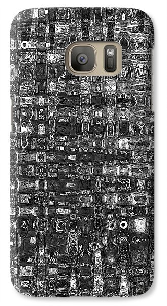 Galaxy Case featuring the photograph Chromosome 22 Bw by Diane E Berry