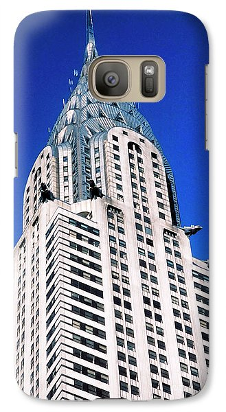 Chrysler Building Galaxy S7 Case by John Greim