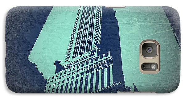 Chrysler Building Galaxy S7 Case - Chrysler Building  by Naxart Studio