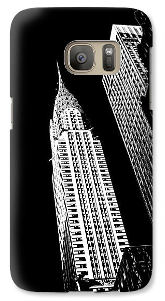 Chrysler Building Galaxy S7 Case - Chrysler Nights by Az Jackson