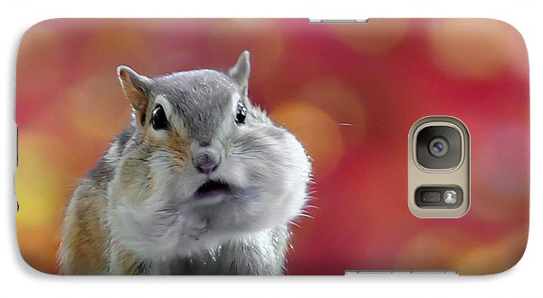 Galaxy Case featuring the photograph Chubby Cheeks by Geraldine Alexander