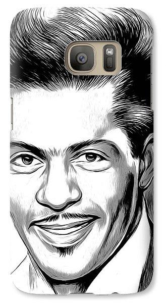 Rock And Roll Galaxy S7 Case - Chuck Berry 2 by Greg Joens