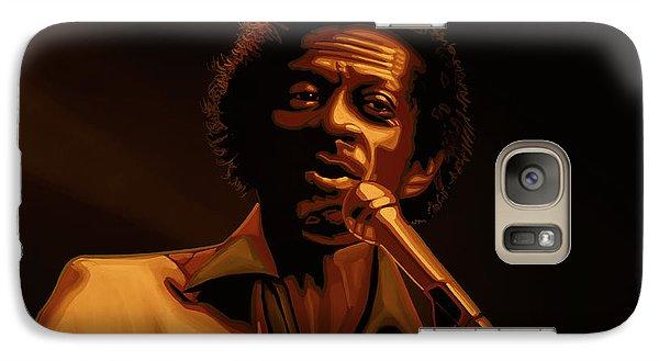 Chuck Berry Gold Galaxy Case by Paul Meijering