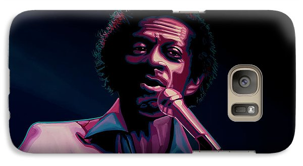 Rhythm And Blues Galaxy S7 Case - Chuck Berry by Paul Meijering