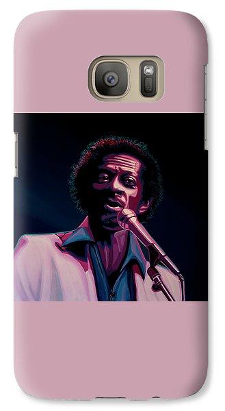 Chuck Berry Galaxy Case by Paul Meijering