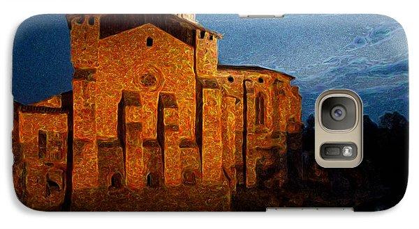 Galaxy Case featuring the photograph Church 1 by Jean Bernard Roussilhe