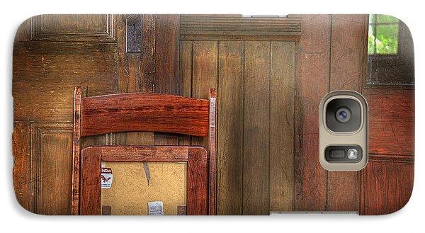 Galaxy Case featuring the photograph Church Chair II by Craig J Satterlee