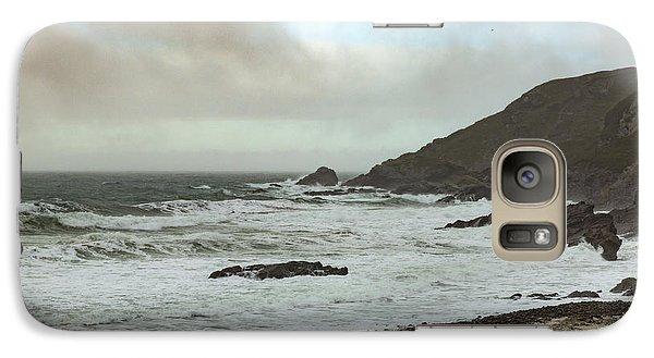 Galaxy Case featuring the photograph Church Cove Gunwallow by Brian Roscorla