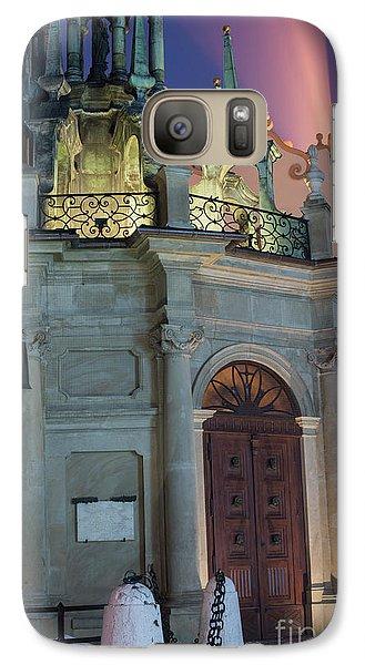 Galaxy Case featuring the photograph Church Door by Juli Scalzi