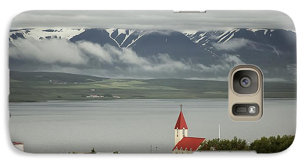 Church In Akureyri Galaxy S7 Case