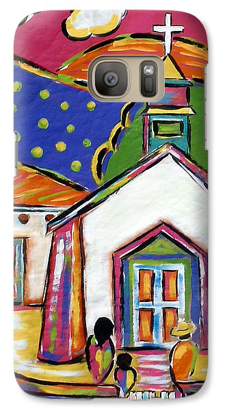 Church In Blanco Galaxy S7 Case