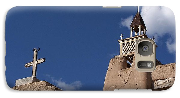 San Jose De Gracia Church, Las Trampas, N.m. Galaxy S7 Case