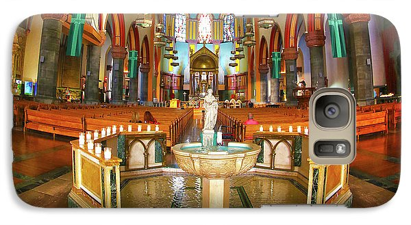 Galaxy Case featuring the photograph Church Of St. Paul The Apostle by Mitch Cat