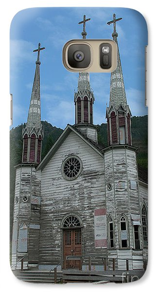 Galaxy Case featuring the photograph Church Of The Holy Cross by Rod Wiens