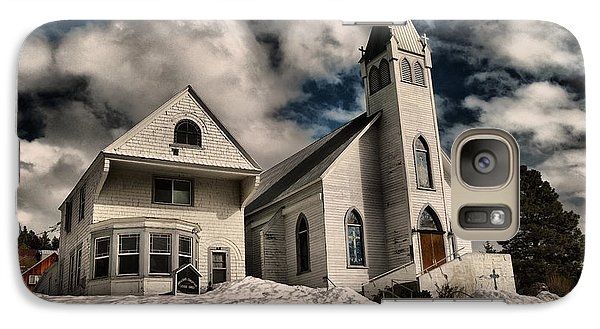 Galaxy Case featuring the photograph Church Of The Immaculate Conception Roslyn Wa by Jeff Swan