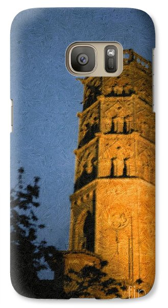Galaxy Case featuring the photograph Church Steeple by Jean Bernard Roussilhe