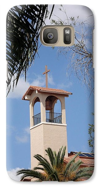 Galaxy Case featuring the photograph Church Steeple by Rosalie Scanlon