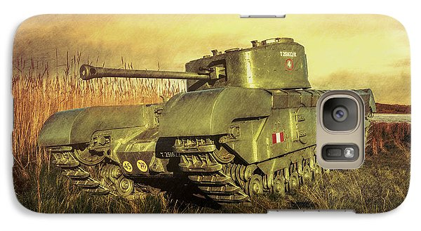 Galaxy Case featuring the photograph Churchill Tank by Roy McPeak