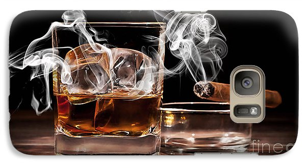Cigar And Alcohol Collection Galaxy Case by Marvin Blaine
