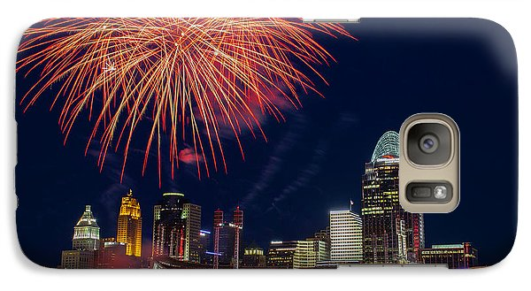 Cincinnati Fireworks Galaxy S7 Case