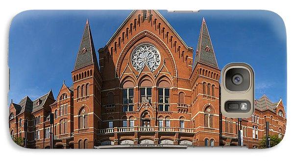 Galaxy Case featuring the photograph Cincinnati Music Hall by Rob Amend