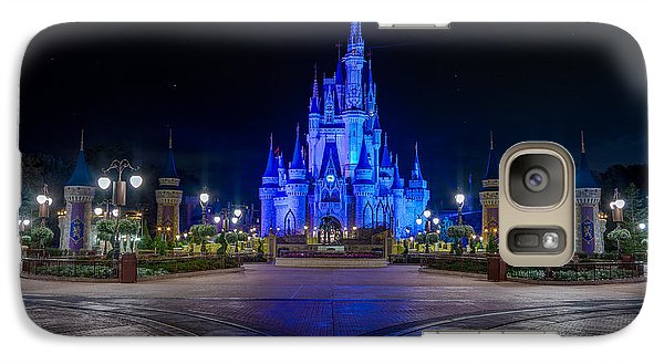 Cinderellas Castle Glow Galaxy S7 Case