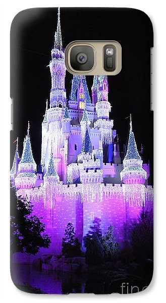 Galaxy Case featuring the photograph Cinderella's Holiday Castle by John Black