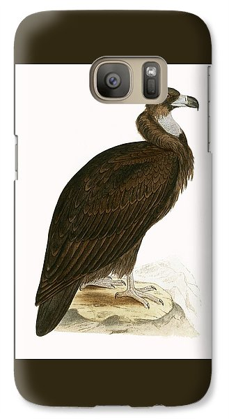 Cinereous Vulture Galaxy S7 Case by English School
