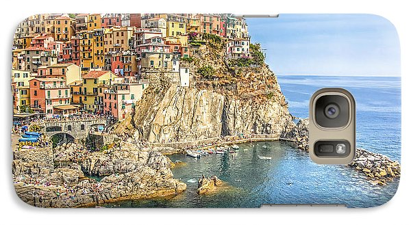Galaxy Case featuring the photograph Cinque Terre by Brent Durken