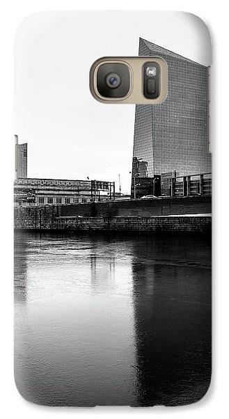 Galaxy Case featuring the photograph Cira Centre - Philadelphia Urban Photography by David Sutton