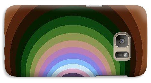 Galaxy Case featuring the digital art Circle II by Dragica  Micki Fortuna