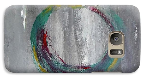 Galaxy Case featuring the painting Vortex by Victoria Lakes