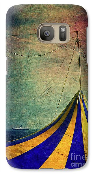 Circus With Distant Ships II Galaxy S7 Case by Silvia Ganora