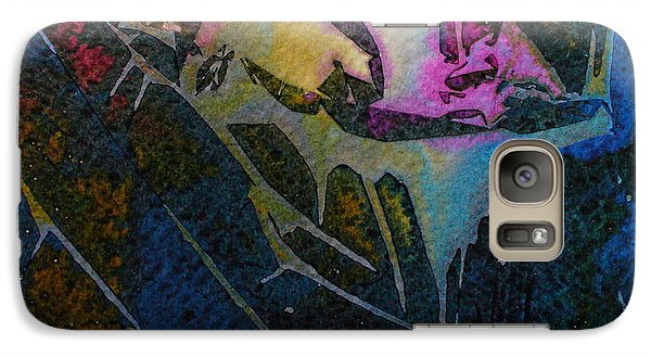 Galaxy Case featuring the painting Cirque Du Soleil by Mary Sullivan