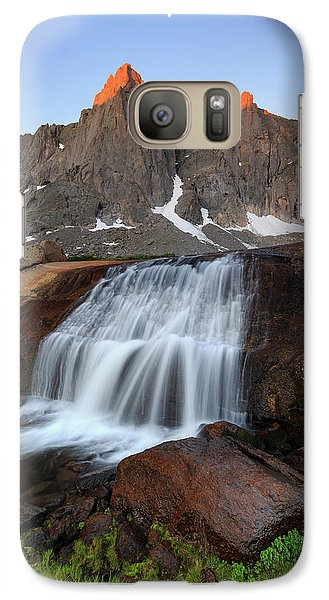 Galaxy Case featuring the photograph Cirque Of The Towers Sunrise. by Johnny Adolphson