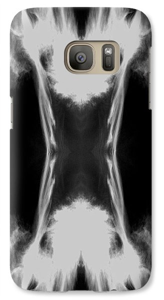 Galaxy Case featuring the digital art Cirrus by Maggy Marsh