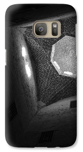 Galaxy Case featuring the photograph Citadel Dome Of Alex Bw by Donna Corless