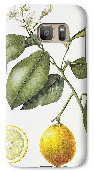 Citrus Bergamot Galaxy S7 Case