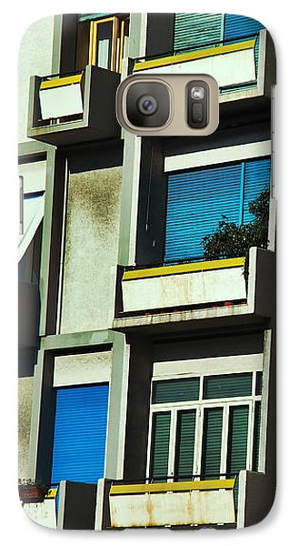 City Balconies Galaxy S7 Case by Silvia Ganora