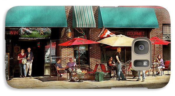 Galaxy Case featuring the photograph City - Edison Nj - Pino's Basket Shop by Mike Savad