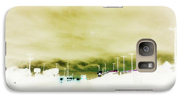 Galaxy Case featuring the photograph City Limits by Max Mullins