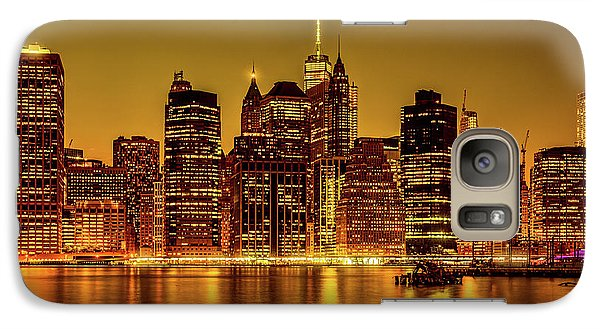 Galaxy Case featuring the photograph City Of Gold by Chris Lord