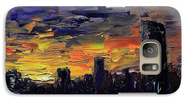 City Sunset Galaxy S7 Case
