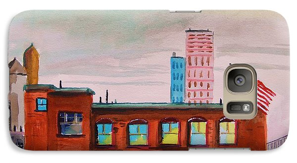 Galaxy Case featuring the painting City Warehouse by John Williams