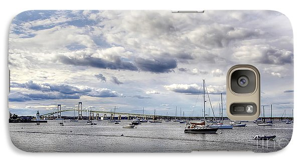 Galaxy Case featuring the photograph Claiborne Pell Newport Bridge by Adrian LaRoque