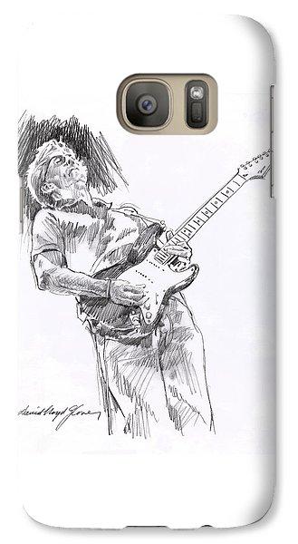 Eric Clapton Galaxy S7 Case - Clapron Blues Down by David Lloyd Glover